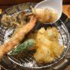 海老・ししとう・玉子・舞茸の天ぷら