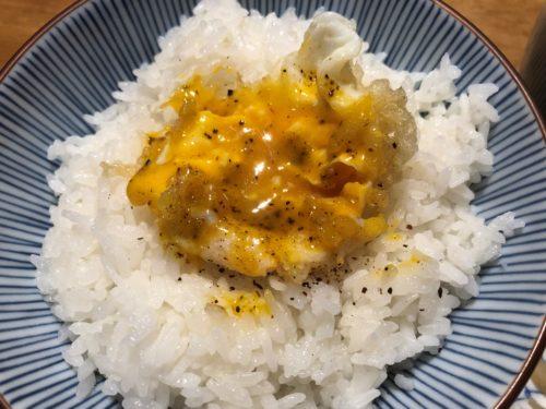 玉子の天ぷら