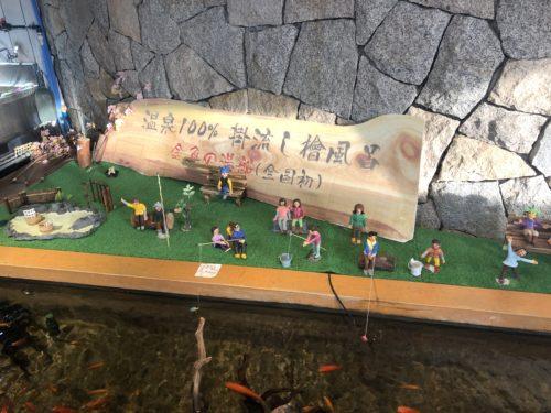 金魚の檜風呂