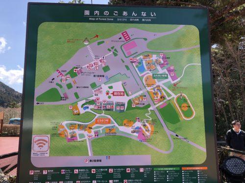 富士サファリパーク案内図