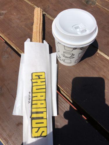 チュリトスとコーヒー